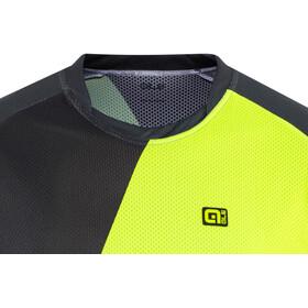 Alé Cycling Enduro Rampage SS Jersey Herr grey-flou yellow